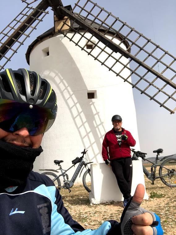 rutas en bicicleta vías verdes bicicleta senderismo andar correr marchar paisaje naturaleza molinos
